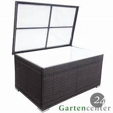 kiste für auflagen polyrattan kissenbox auflagenbox kiste auflagen
