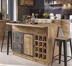 cuisine et maison boutique 206 lot central cuisine en manguier massif et m 233 tal gris en