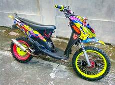 Mio Sporty Modif Trail by Modifikasi Mio Trail