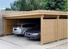 abri voiture moderne carport bois modern line 5 93 x 6 55 carport toit plat