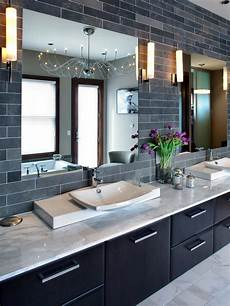 gray bathrooms ideas 9 bold bathroom tile designs hgtv s decorating design hgtv