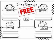 story elements worksheet title character setting problem solution homeschool story