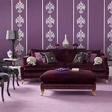 black and purple living room pause for something pretty in purple in my