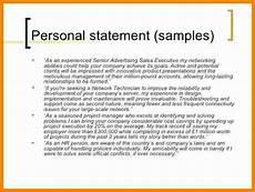 5 cv personal statement exles career change theorynpractice