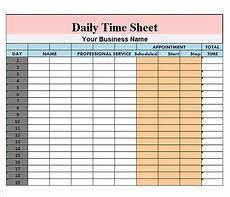 time recording worksheet 3183 free 17 sle daily timesheet templates in docs sheets excel ms word