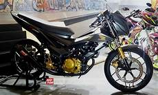 Modifikasi Motor Sonic 2018 by Sonic 150 Modifikasi 2 Motorblitz