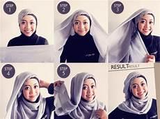 New Cara Memakai Jilbab Untuk Wajah Bulat Dan