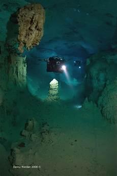 mexico cave diving gue