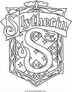 malvorlagen harry potter house potter slytherin gratis malvorlage in comic