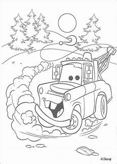 mater cars disney coloring pages cars