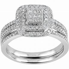 forever 1 4 carat t w diamond bridal in