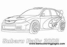 colouring page rallying