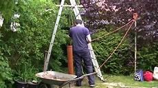 brunnenbohren anleitung plunschen well