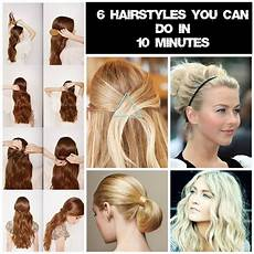 6 easy hairstyles for mums the go