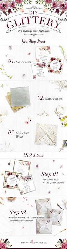top 6 diy wedding invitations ideas by elegant wedding