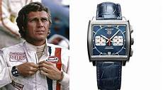 retro racing style with the tag heuer monaco bloke