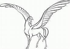 free printable pegasus coloring pages for