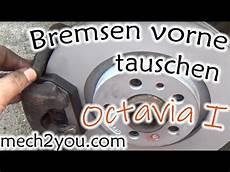 skoda octavia 1 8 bremsen vorne wechseln