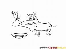 Malvorlage Hund Mit Knochen Hund Mit Knochen Ausmalbild
