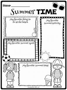 end of the year fun activities and memory book