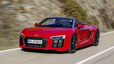 2018 audi r8 spyder v10 rws driving footage closer look