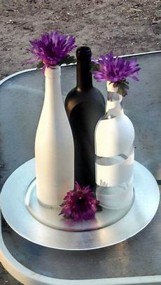 Wine Bottle Centerpieces For Wedding Images