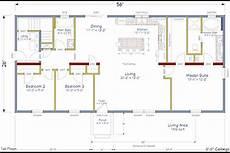 simple open house plans ranch model home open concept floor plans