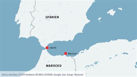 Ceuta Och Melilla