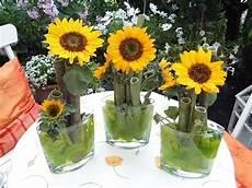 Deko Mit Sonnenblumen Bilder Und Fotos Sonnenblumen