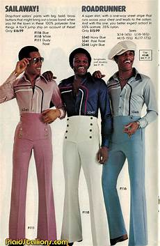 in the 1970s real wore flared trousers and flowery t