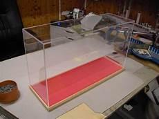 Glasvitrine Selber Bauen - plexiglasvitrine einfach und billig