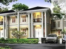 60 Desain Rumah Orang Kaya Terbaru Parkiran Desain