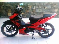 Revo Modif Trail by Modifikasi Absolute Revo Merah Modif Motor