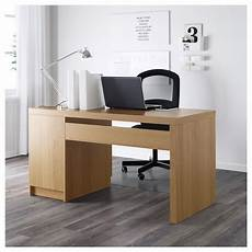 ikea home office furniture uk malm oak veneer desk 140x65 cm ikea ikea malm desk