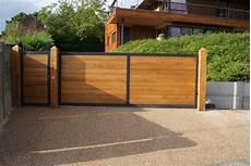 portail en bois fabricant portail bois sur mesure pose deauville lisieux