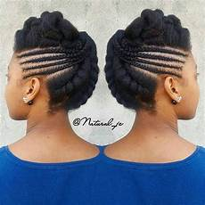 Braided Updo Black Hairstyles