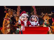 schedule for mickey's very merry christmas