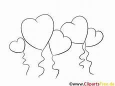 Malvorlagen Ausmalbilder Luftballon Luftballons Herzen Bilder Zum Ausmalen