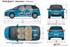 citroën c4 dimensions dimension garage avis citroen c4
