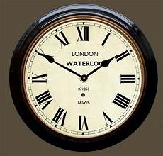 waterloo station wall clock
