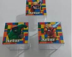 lembracinhas caixinha lego elo7