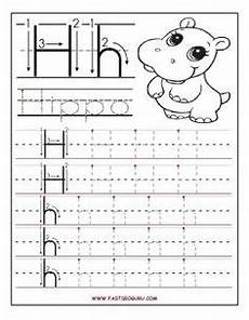 letter tracing worksheets kindergarten 23184 free printable letter h tracing worksheets for preschool free writing practice worksheets for