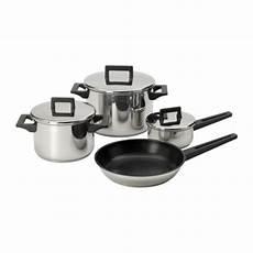 casserole induction ikea snitsig set di pentole 7 pezzi ikea