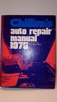 old cars and repair manuals free 1968 pontiac grand prix navigation system vintage chilton s auto repair manual 1975 for american cars from 1968 to 1975 repair manuals