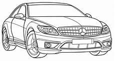 Malvorlagen Lkw Mercedes Mercedes Cl Class Coloring Page Stuff