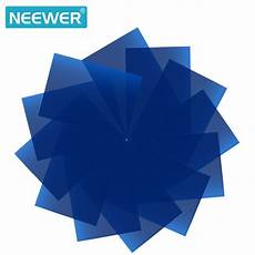 Inch Color Lighting Filter Strobe Light by Neewer 12 Pack 8 5x11 Inches 21x28cm Transparent Color