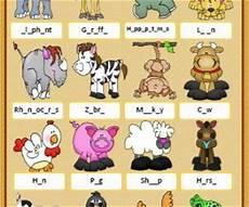 animal letter worksheets 13939 animals missing letters worksheet