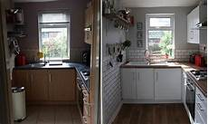a tiny kitchen makeover before after make do and mend