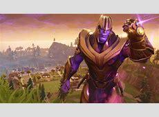 Wallpaper Fortnite, Thanos   WallpaperMaiden