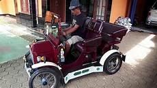 Modifikasi Motor Jadi Mobil by Motor Matic Jadi Mobil Antik Test A5 2017